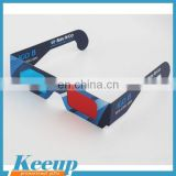 Home Theatre Custom Logo Paper 3D Glasses