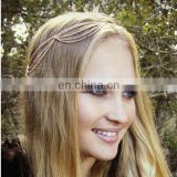 Latest fashion women jewelry head chain