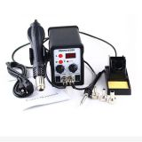 220V/110V YOUYUE 8586 SMD Rework Station Solder Iron With 3 Nozzles