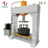 TP100T 120T 160T 200T Forklift solid tire press machine for industrial and OTR solid tyre