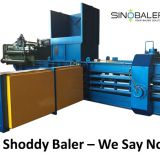 Shoddy Baler Machine / Shoddy Baling Press