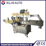 PLC controlled labeling machine for round bottle double and square bottle labeling machine automatic