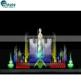 Musical garden enchanted fountain show dancing outdoor fountain pool fountain