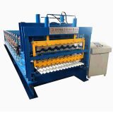 Botou manufacturer Three layers metal roll forming machine made in China
