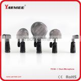 Professional Musical Instruments Drum Microphone Kit With Metal Box ----- Yarmee