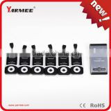 Wireless intelligent tour guide system museum audio guides with 99 channels YT100 YARMEE