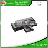 compatible Toner Cartridge for RICOH SP200 SP201 SP202 P203 SP204SFN 211 213 407259 407258