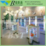 Modern retail medical store furniture, pharmacy cabinets for sale