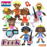 newest intelligent toys 5mm hama perler beads iron beads for kids