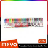 Promotional plastic oil pen roller ball pen with 60 colors                                                                         Quality Choice