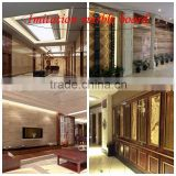 Factory manufactures Environmental protection imitation marble wall board for decorative interior wall board