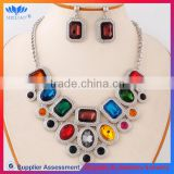 YIWU FACTORY SALE imitation black pearl jewelry set
