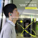 USAMS BG Bluetooth Earphone Shockproof Universal for Android/IOS System Sport Stereo in ear Headphone with Mic MT-5206