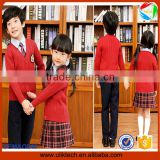 hot selling boys sweaters in school baby girls dress suit school uniform hand made sweater in spring for high school uniforms