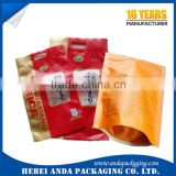 5kg 10kg rice bag with handle/ packing plastic handle bag for rice / nylon packaging bags for rice