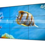 China supplier 46inch LED TV LG/Samsung panel wall mount video wall