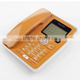 Wholesale wired dual caller id land line phone