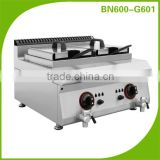 600 Series Countertop Cooking Equipment Line Gas Deep Fryer For Fried Chicken And Chips Restaurants