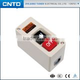 CNTD Custom Products Waterproof Surface Mounting Plastic Power Push Button Control Switch Box CBSP-315