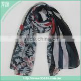 lady fashion bamboo node fabric scarf