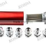 auto red fuel pump station filter ,rc car fuel filters