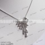 hot sale 925 silver jewellery necklace, wholesale hot agate pendant 925 silver jewellery necklace                                                                         Quality Choice