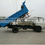 dongfeng 4x2 garbage small dump truck