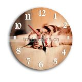 Novely animal home garden fancy wall clock                                                                         Quality Choice