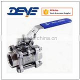 Ball Valves with Three-Piece Body NPT/BSP ENDS 1000WOG/2000WOG Stainless Steel /Carbon steel                                                                         Quality Choice
