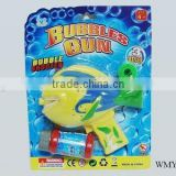 mini fish battery operation Bubbles gun with music