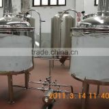 Manufacturing beer equipment 500L Fermentation tank of beer Mash tan and lauter tun for sale