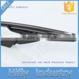 HF-01Hot Framless Universal Car Accessory Wipers Tope Seller Car Wiper Blade Universal Type Rubber Car Wiper
