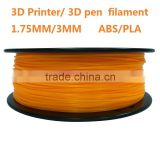 1.75mm magic 3D printer pen 3d pen filament multi colors 3mm pla abs filament for DIY 3D printer 3D printing machine