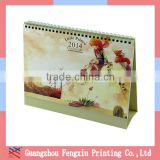 Elegant Paper Table Calendar 2016 wholesale desk calendar printing company