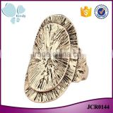 Less than 1 dollar jewelry zinc alloy metal gold finger ring without stone