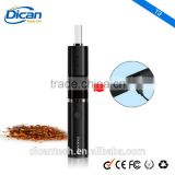 New Popular Dry Herb Vaporizer Titan T3 with quartz coil heating element and glass chamber tank atomizer, world's new product