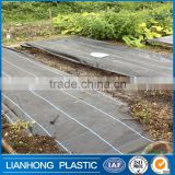 Biodegradable ground cover for greenhouse, 5 years lifespan weed mat sheet, 105gsm weed barrier landscape fabric