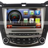 Autostereo Car Audio Media Player for Accord Car Radio with MP3 Player Satnav Bluetooth iPod Touch Screen SD USB Dual Zone