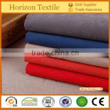 High Quality Twill Polyester Nylon Moss Peach Skin Fabric For Garment