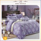 New designs imitation jacquard made in China luxury bedding set 100% polyester wholesale textile linen bed sheets