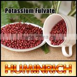 Huminrich Shenyang 100% Water Soluble Potassium Fulvic Acid Shiny Flake Fertilizer For Red Bean