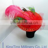 Sinamay Hat Base Fascinators With Fancy Fascinators For Wedding Wholesale T175