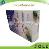 customized 3d lenticualar packaging box for electronics