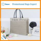 Wholesale picture of jute bag prices of jute bag cheaply jute shopping bag