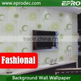 exquisite Wallcovering vinyl background wallpaper for hotel decoration