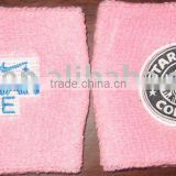 Promotion Terry Towel Cotton Gym Exercise wristband