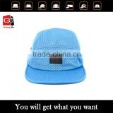 2015 Top quality custom 3d embroidery 100% Cotton caps wholesale 5 panel cap with your own logo