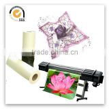 Muti colour flower design sublimation heat transfer paper 63 inch for lady's garment