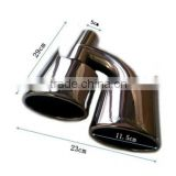 high quality stainless steel muffler tips exhaust tips for BENZ C-CLASS W204 C63 Style 07-12