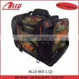 600D polyester Camo Lawn Bowls Bag with wheels